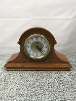 Vintage Quartz Westminster Chime Clock. Natural color
