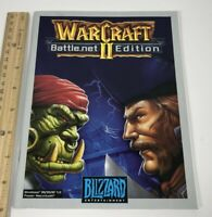 WarCraft II Battle.net Edition PC Game Manual ONLY
