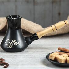 Ceramic Cezve Ibrik Turkish Coffee Pot Collectible Art 6.7 oz/200 ml