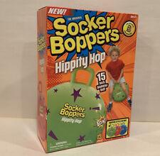 Socker Bopper Hippity Hop Kids Inflatable Jump Ball Exercise & Stability Green