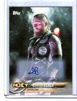 WWE Aleister Black 2018 Topps Authentic Autograph Card SN 82 of 99