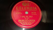JOHN KIRBY I Love You Truly / Cutting The Campus 1941 EX! 78 Columbia 36165