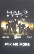 Halo reach t shirt xbox 360 xbox one rare gaming memorabilia