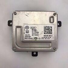 1X Headlight LED Control Module Ballast 4G0907697D for A4 S4 A5 S5 S6 S6 Q3 Q5