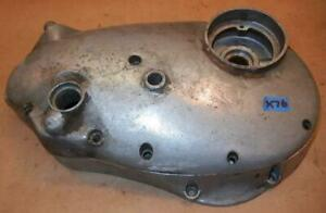 unknown 1960's BSA unit single inner timing cover + outer cover USED - X76