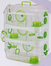 New 3 Solid Floor Hamster Rodent Gerbil Mouse Mice Habitat Cage108