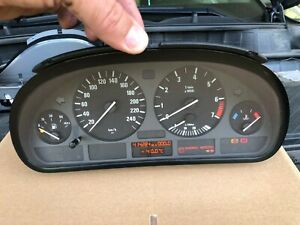 BMW E39 520i 523i 525i 528i SPEEDOMETER INSTRUMENT CLUSTER