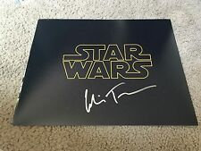 Colin Trevorrow Autographed 11x14 Photo Star Wars Episode IX Director PROOF