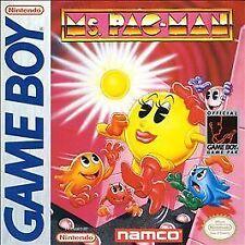 BRAND NEW H-SEAM SEALED GAMEBOY -- Ms. Pac-Man (Nintendo Game Boy, 1993)
