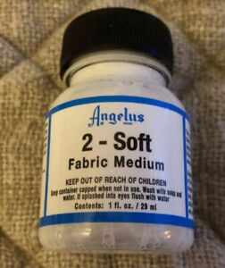 ANGELUS 2-SOFT FABRIC MEDIUM 1oz