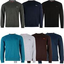 Normale unifarbene Herren-Sweatshirts aus Mischgewebe