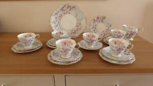 Foley Spring Blossom Tea Set 20 pieces