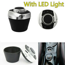 8-Key Cup Shape Car Stereo Wireless Steering Wheel Control Button With LED Light