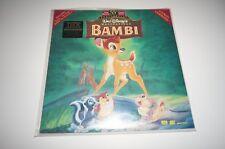 BAMBI Laserdisc LD Walt Disney Masterpiece 55th Anniversary NEW/SEALED