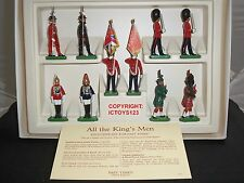 BRITAINS PAST TIMES STORE EXCLUSIVE ALL THE KINGS MEN CEREMONIAL TOY SOLDIER SET