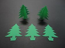 Scrapbooking Paper Punchies-20 Large Christmas Tree Punchies