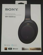Sony WH-1000XM3 Noise Canceling Headphone - Black