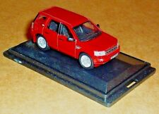 OXFORD DIECAST LAND ROVER FREELANDER 2 RED 1:76 SCALE MODEL CAR VEHICLE TOY