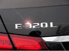 E686 E320L E320 neue Modern Emblem Badge auto aufkleber Schriftzug car Sticker