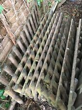 Round Top /& Pointed Top Picket Garden Fence Panels Wood Pales 4ft 1.2m High