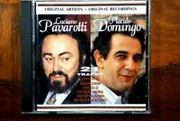 Pavarotti, Domingo, 21 Tracks  - CD, VG