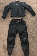Womens Spyke Racing Collection Leather Motorcycle Suit Sz I48 D42 EUC
