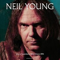 NEIL YOUNG  : LIVE AT SUPERDOME 1994 : 180G BLUE VINYL LP