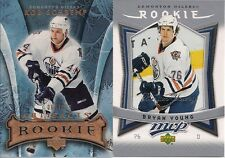 EDMONTON Oilers 07/08 Artifacts Rob Schremp Rookie /999 (pic on left)