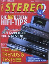Stereo 9/99 Rotel RCD-971, NuBox 360, Quadral Aurum 9, Elac CL 515, T+A PA 1520R