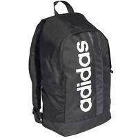 adidas Line Core Rucksack Sporttasche Reisetasche Schulrucksack schwarz weiß