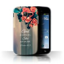 Back Case/Cover/Skin for Samsung Galaxy Trend 2 Duos/S7572/Christian Bible Verse
