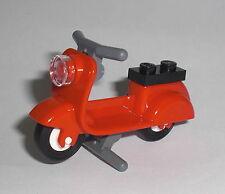 LEGO City - Roller Scooter - Motorroller Moped Motorrad Vespa Mofa Minifig Figur