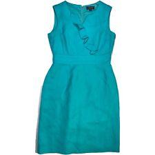 TAHARI Arthur S Levine Womens sz 4 P Petite Sleeveless V-Neck Dress Career ASL