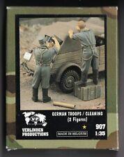 VERLINDEN 907 - GERMAN TROOPS/CLEANING - 1/35 RESIN KIT