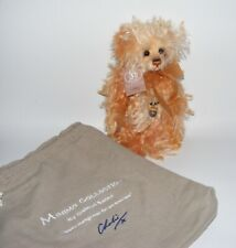 """Charlie Bears YORKSHIRE PUD Pudding 8.5"""" MiniMo Bear 560/2000 Isabelle Lee 2011"""