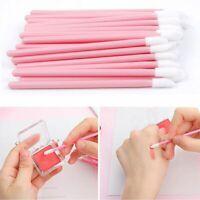 100Pcs Lipbrush Lip Gloss Brush Disposable Wands Lipstick Gloss Applicators Tool