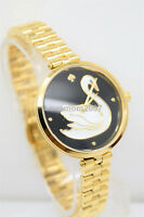 RARE❤️ KATE SPADE KSW1177 new york gold tone holland watch SWAN mother of pearl