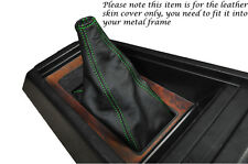 GREEN STITCHING FITS TOYOTA CELICA TA40 RA40 LEATHER GEAR GAITER SHIFT BOOT ONLY