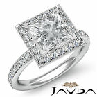 Princess Diamond Engagement Ring GIA Certified I Color VS2 14k White Gold 1.55ct