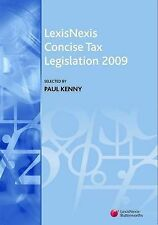 LexisNexis Concise Tax Legislation 2009 by Butterworths (Paperback, 2009)