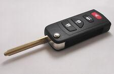 Remote Key Shell Case Folding Flip For INFINITI G35 I35 350Z Nissan 4 Buttons 4B