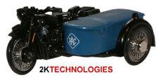 Oxford 76BSA002 RAC BSA Motorcycle & Sidecar 1/76 Scale = 00 Gauge New in Case