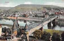 Traben Germany Bridge Antique Postcard J67917