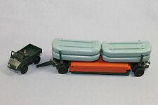 Siku Plastik V-Serie V 108 Pionier-Brückenbauzug mit Unimog  (Modell V 131)