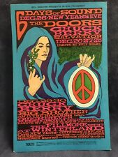 The Doors Winterland Bill Graham 1967 POST CARD LIMITED & RARE!