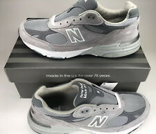 NIB New Balance Classic 993 Running Shoes Grey White MR993GL Men's Size 10.5