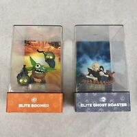 Skylanders Elite Boomer and Elite Ghost Roaster Bundle Figure Bundle with Cases
