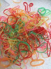250 X Polyurethane Braiding Bands Elastics Rubber Bands Neon Ponios  Kids Bands