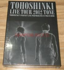 TVXQ! TVXQ TOHOSHINKI LIVE TOUR 2012 TONE 3 DISC DVD LIMITED EDITION SEALED
