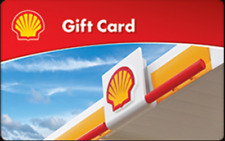 New $50 Shell Gift Card X 4= $200